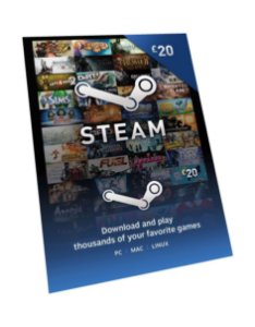 Steam - Cartão Pré Pago R$ 10 Reais