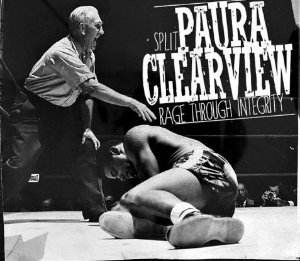 "PAURA / CLEARVIEW - ""Rage Through Integrity"" Split Digipack CD"