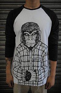 Camiseta Raglan (manga 3/4) - Cyco Kong
