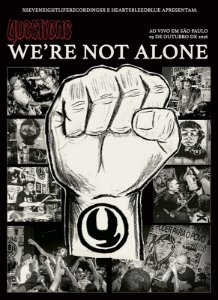 """QUESTIONS - """"We´re Not Alone"""" DVD Digipack"""