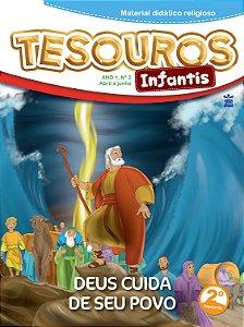 LIÇÃO TESOUROS INFANTIS 2019- 2TRIM