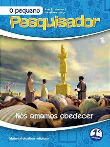 LIÇÃO PEQUENO PESQUISADOR 2020 - 1ºTRIM (ANO1 -Nº 1)