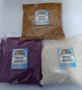 Brocal Pacote 250 gramas - Várias Cores