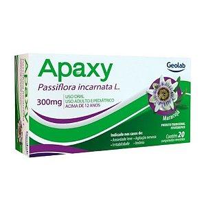 APAXY 300MG C/20 CPR (VECN: 31/01/2021)