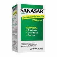 SANASAR EMULSAO 250MG/ML