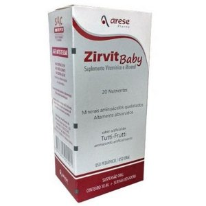 ZIRVIT BABY SUS OR FR 30ML (VENC: 31/10/2021)