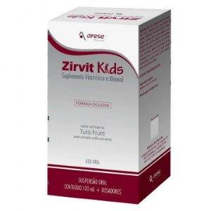 ZIRVIT KIDS SUS ORAL FR 100ML