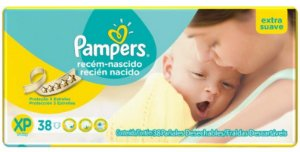 FRALDA PAMPERS TOTAL CONFORT XP C/38 Fraldas