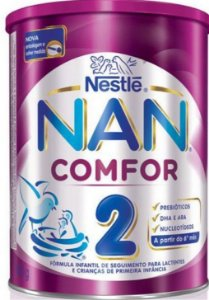 NAN 2 COMFOR LATA 800G - VALIDADE 01/07/2019