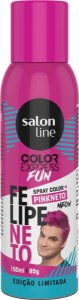 Color Express Fun Spray Color Felipe Neto 150 ml Pink