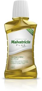 MALVATRICIN PLUS SOL 250ML SEM ALCOOL