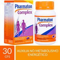 MULTIVITAMÍNICO PHARMATON COMPLEX 30 CÁPSULAS