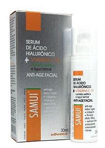 Serum Água Termal + Ácido Hialurônico Anti Sinais Vita C 30 ml Samui
