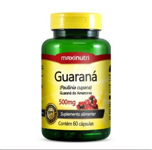 GUARANÁ 500MG C/ 60 MG CÁPS