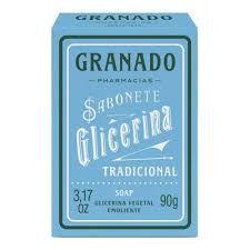 SABONETE GLICERINA  GRANADO TRADICIONAL 90 G