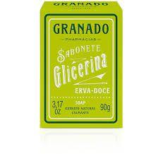 SABONETE GLICERINA GRANADO ERVA DOCE 90 GRS