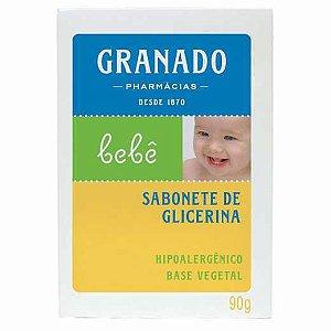 SABONETE GLICERINA GRANADO BEBE TRADICIONAL 90G