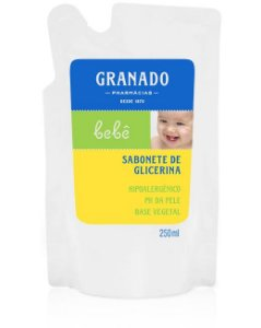 SABONETE GRANADO REFIL BEBE 250 ML