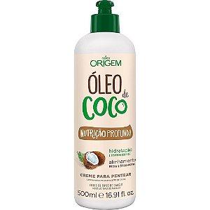 CREME PARA PENTEAR ORIGEM ÓLEO DE COCO