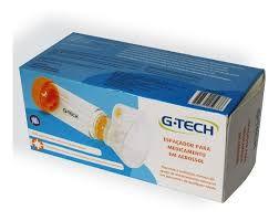 Espaçador p/ Medicam Aerossol Adulto e Infantil G-Tech Clear