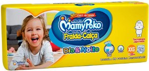 FRALDA MAMYPOKO DIAENOITE XXG C 30 MEGA