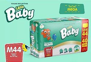 FRALDA LITTLE BABY NEMO MEGA M L44P40