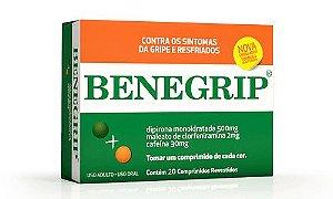 BENEGRIP CX 20 COMPOMPRIMIDOS