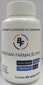 BIOSIGMA 400 MCG C/90 COMPRIMIDOS (SIMILAR AO DTN FOL 400mcg + 10 mg)