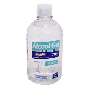 ALCOOL GEL 70% Jugatha 500 ml