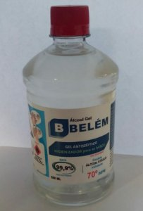 ALCOOL GEL 70% C/ 500 ml (Belem)