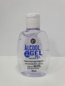 ALCOOL GEL 70% C/60 ML