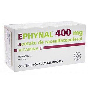 EPHYNAL 400MG CX 30 CAP