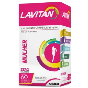 LAVITAN MULHER  60 DRGS