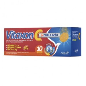 VITAXON C TRIPLA AÇÃO C/10 CP EFERV.