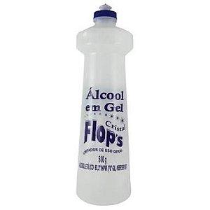 ALCOOL EM GEL 70% C/ 500 ml (Flops)