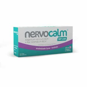 NERVOCALM 250MG CX 20 COMP