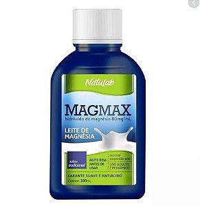 LEITE DE MAGNESIA TRADICIONAL (MAGMAX) 100 ML