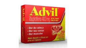 ADVIL 400MG C/20 CAPS GEL