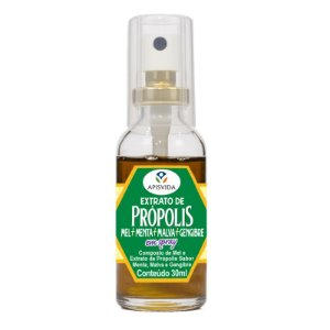 PROPOLIS COMPOSTO COM MEL E GENGIBRE SPRAY 30ML