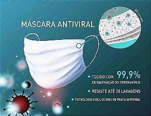 MASCARA ANTIVIRAL UPVEST (PRETA) TAMANHO UNICO