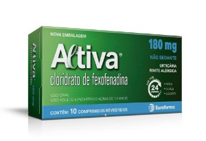 ALTIVA 180MG CX 10 COMP (VENC:31/08/2021)