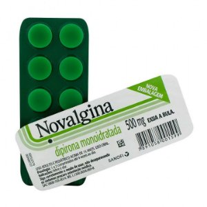 NOVALGINA 500MG C/10 COMP