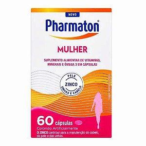 PHARMATON MULHER FR 60 CAP