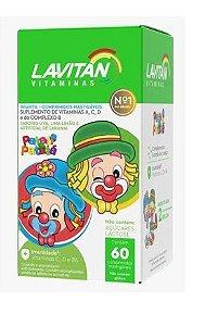 LAVITAN INFANTIL COMP MAST FR C/ 60 SABOR UVA,LIMÃO, E LARANJA