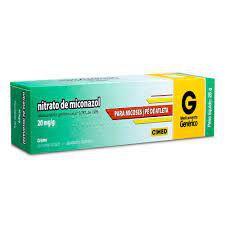 MICONAZOL 20MG/G CREM DERM BG 28G