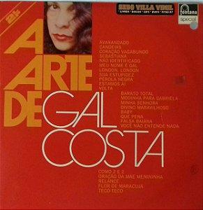 """Lp  duplo Gal Costa """" A Arte de Gal Costa"""""""