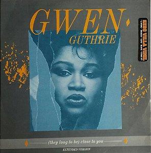 Disco Single de Vinil - Gwen  Guthrie Single Importado