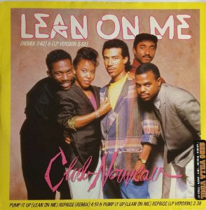 Single de Vinil Importado - Lean On Me