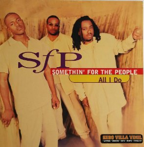 Disco  Single de Vinil - Somethin' For The People