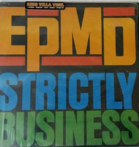 Disco  Single de Vinil - EPMD - Strictly Business